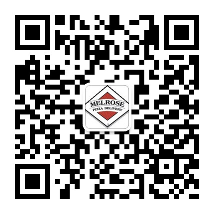 join melrosepizza on wechat